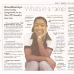 Sunday Tribune Article 1