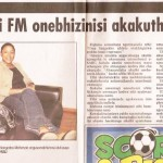 Ilanga Newspaper Article 3