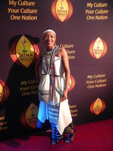 In-full-Xhosa-Regalia-at-the-6th-Annual-SATMA-Awards-2011-Red-Carpet-