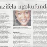 Sunday Times NgesiZulu 14 October 2012